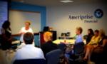 Bev Nerenberg with volunteer learning about EFT
